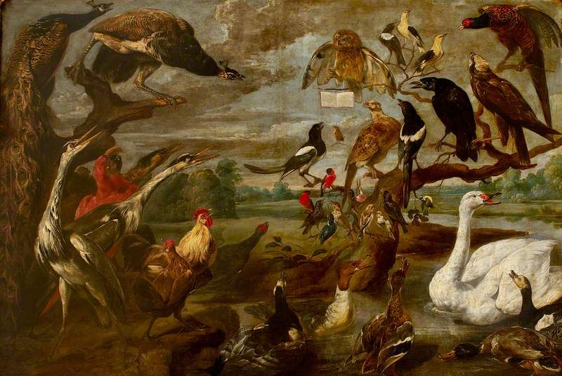 BBC - Your Paintings - A Concert of Birds (I)