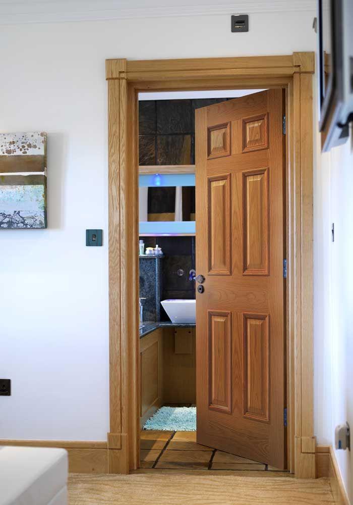 Royale E16M Oak   Classic Premium Oak Veneered Six Panel Interior Door