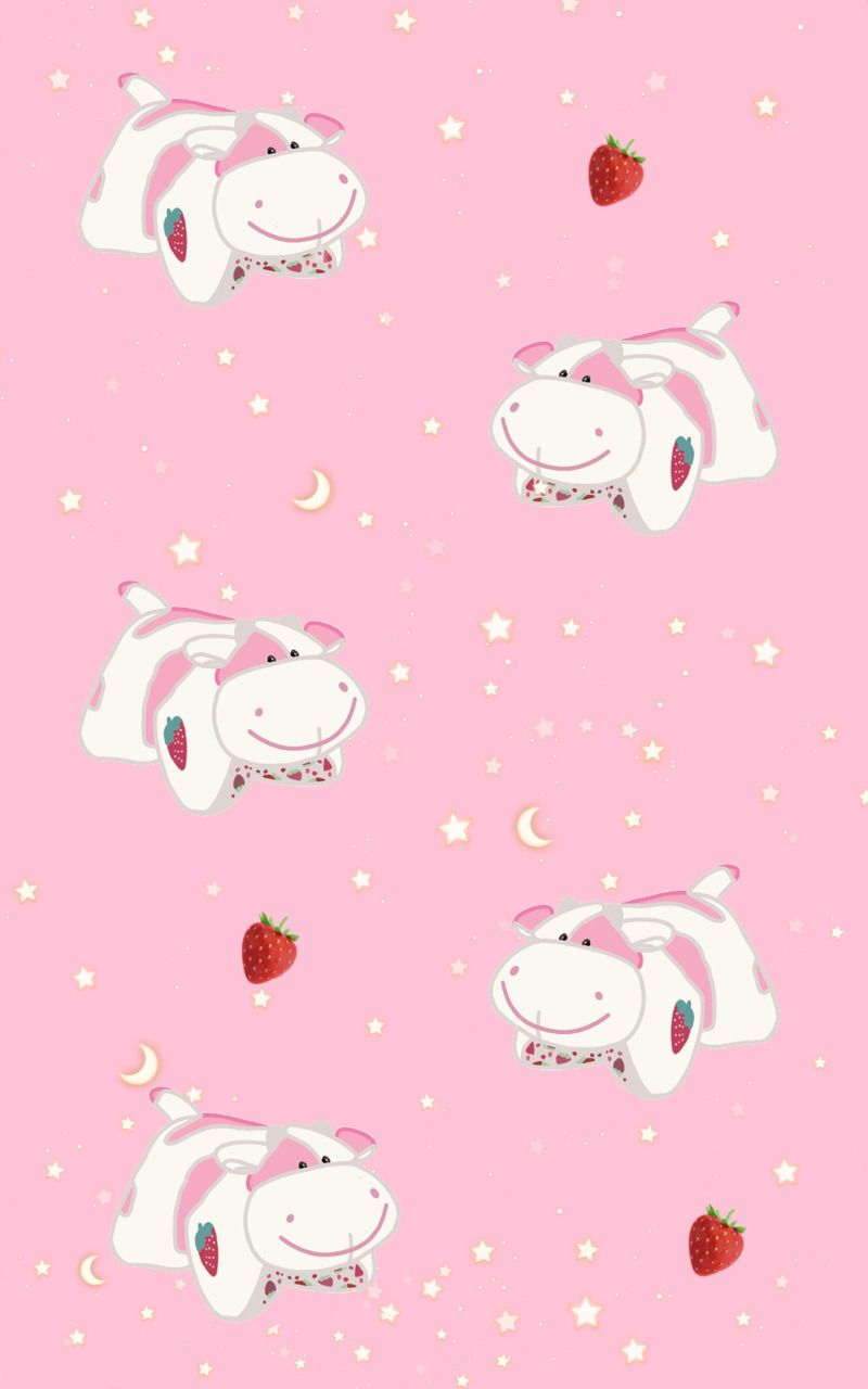 Image Shared By Abbie Find Images And Videos About Cute Wallpaper And Agere On We Heart It The In 2021 Cow Wallpaper Pink Wallpaper Iphone Wallpaper Iphone Cute