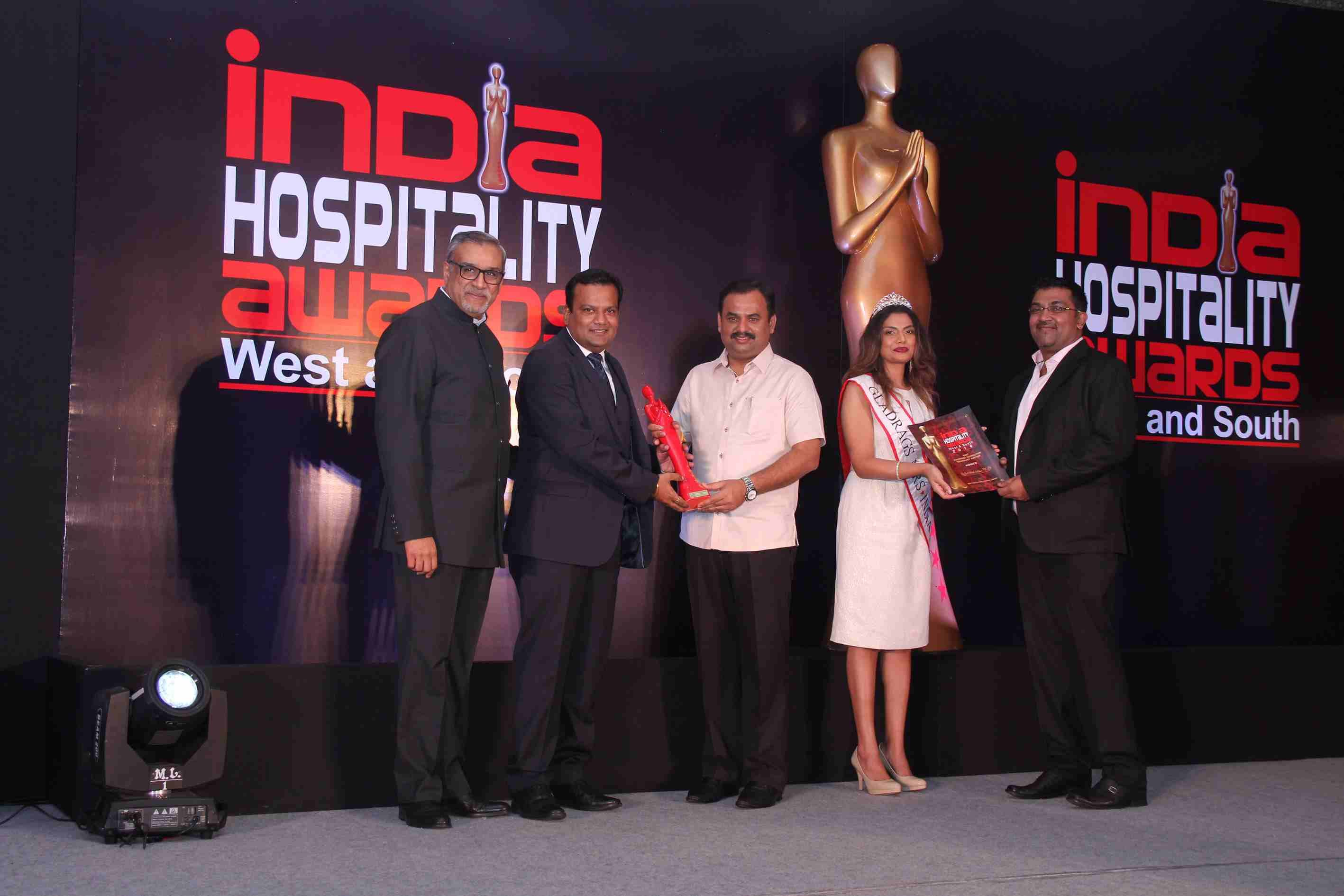 RezNext Wins the Coveted India Hospitality Award, 2016
