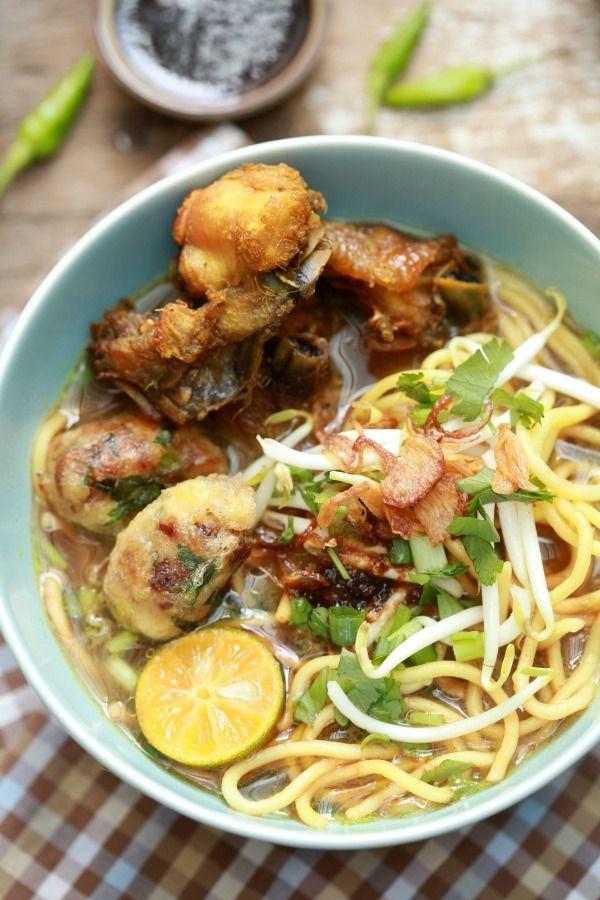 Mee Soto Ayam Masakan Asia Ayam Dan Masakan
