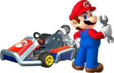 Mario Holding A Wrench From The Official Artwork Set For Mariokart7 On Nintendo3ds Mariokart Mario Visit For More Mario Kart 7 Mario Kart Super Mario Bros