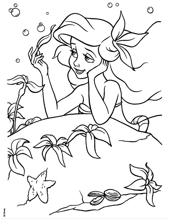 Large Princess Coloring Book Princess Coloring Pages Disney Princess Coloring Pages Ariel Coloring Pages