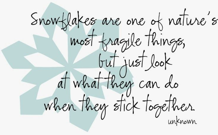More Than Sayings Snowflakes That's So True Pinterest Impressive Love Snowflake Quotes