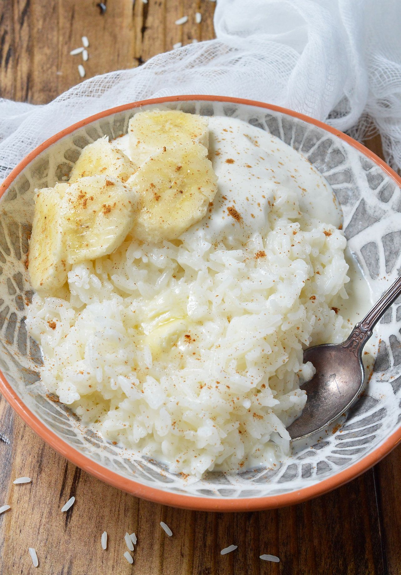 This 5 Ingredient Breakfast Rice Recipe Is A Dish From My Childhood Not Only Is It Quick And Eas Sweet White Rice Recipe Breakfast Rice Rice Breakfast Recipes