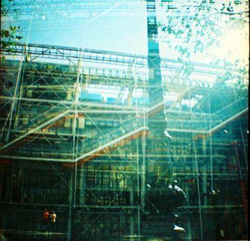Centre Pompidou, Diana camera by Pom Kimber