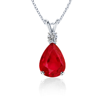 The brilliance of ruby and diamond when combine in form of a the brilliance of ruby and diamond when combine in form of a pendant it leads mozeypictures