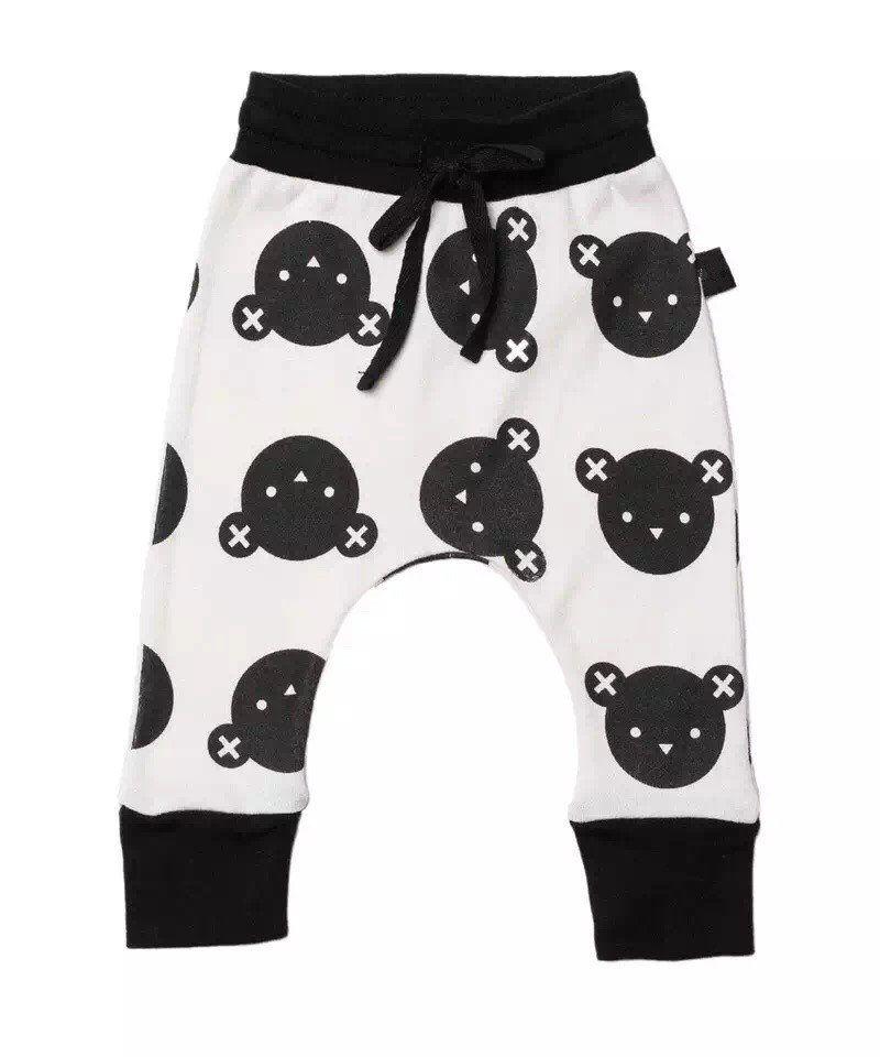 8efd6424712a Bear Printed Pants