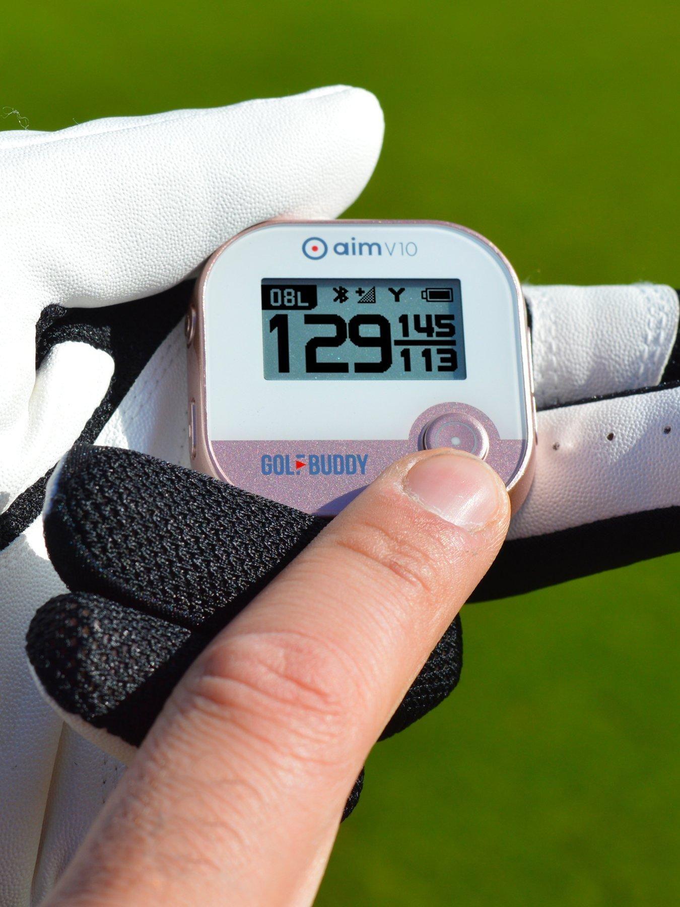 Golf Buddy aim V10 Talking Golf GPS Yardage System with Bluetooth Technology #bluetoothtechnology