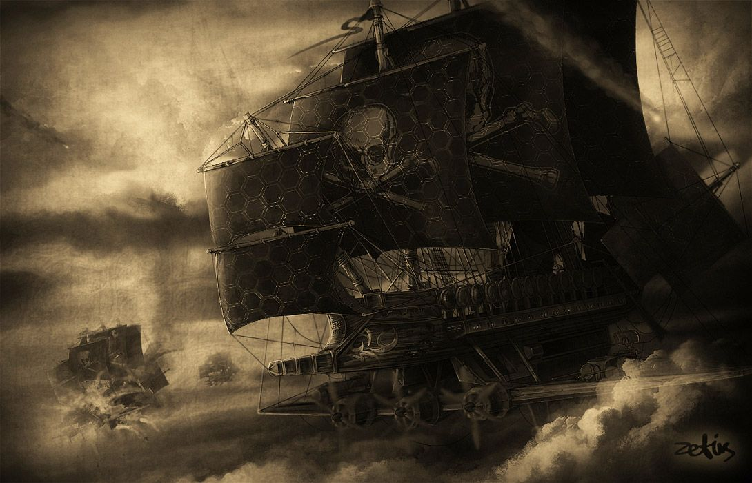 old pirate ships | Ship Picture (2d, fantasy, ship ...