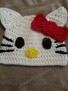 Hello Kitty Character Beanie Hat ~ free pattern  fec06cdedb6