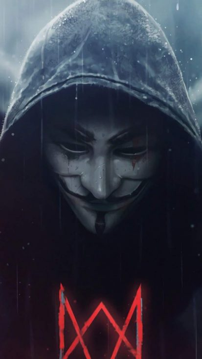 Anonymus Alan Walker iPhone Wallpaper in 2020 Hd anime
