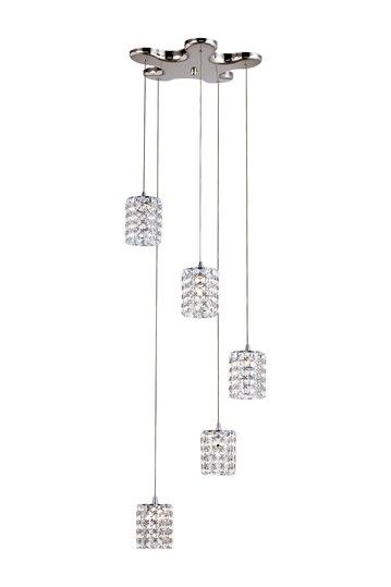 Cube Drop 5 Light Crystal Pendant Lamp By Transglobal Lighting On Hautelook