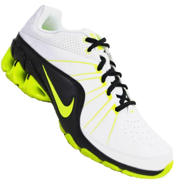 f9c2114f3a Tênis Nike Impax Atlas 4 SL Masculino Branco   Verde   Preto