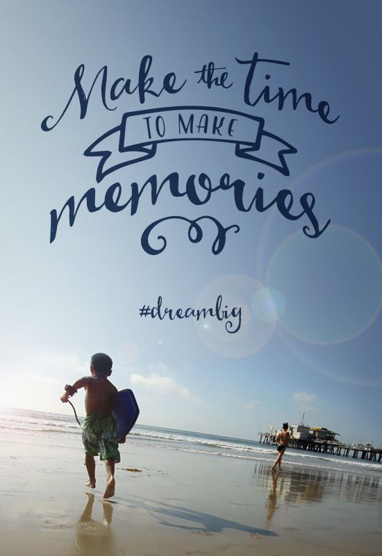 Make the time to make memories. Click to watch one family ...