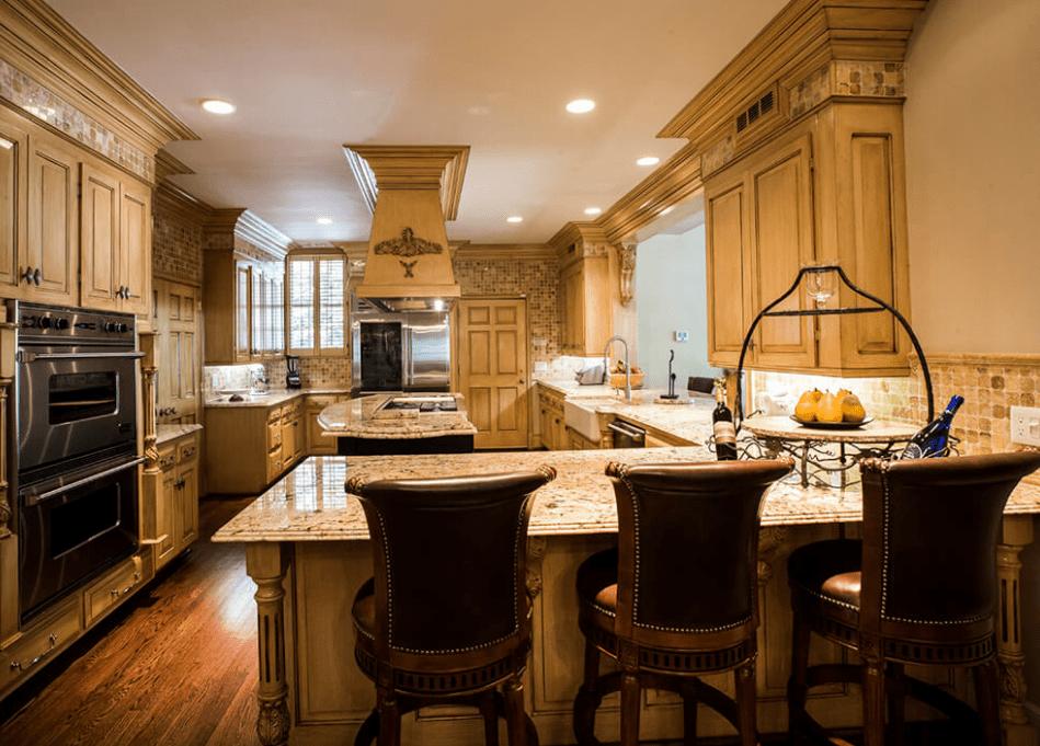 30 Stunning Rectangular Kitchen Design Ideas | Kitchen ...