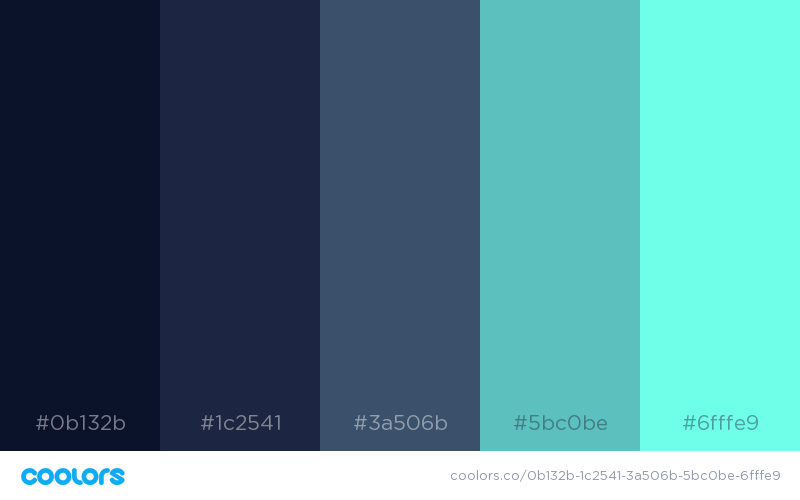 34 Beautiful Color Palettes For Your Next Design Project ...