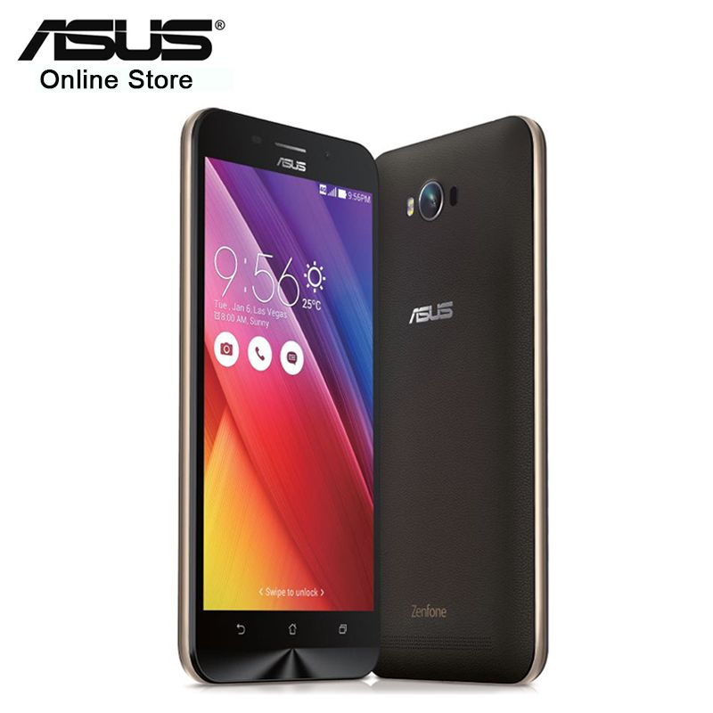 100% Original Asus Zenfone MAX ZC550KL 5000mAh 2GB 32GB Snapdragon MSM8916 Quad Core 5.5'' Dual SIM Android 13.0MP Mobile Phone
