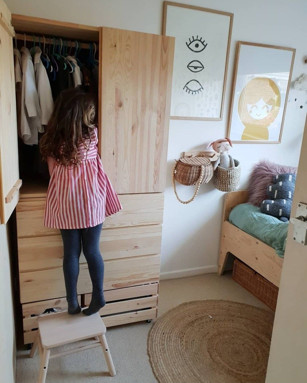 IKEA IVAR - storage solutions for a box room. - Alice in Scandiland