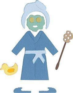 Lifestyle Crafts > Dies > Spa Paper Doll 4x4 Die by QuicKutz: A Cherry On Top   Quickutz ...