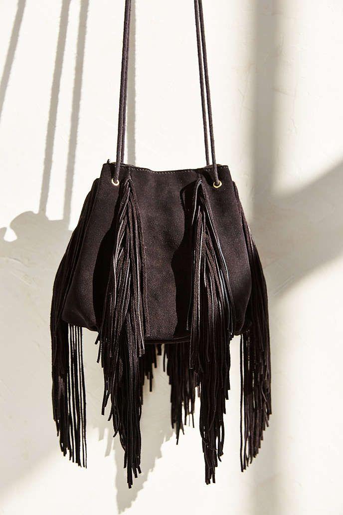 Ecote Fringe Bucket Bag Urban Outers