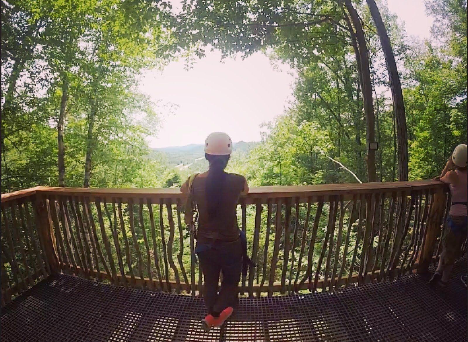Zip Zip Away Outdoor Ziplining Lifestyle