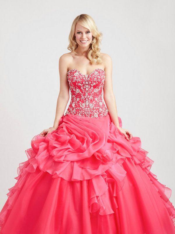 vestido de quinceañera color rosa | vestidos de quinceañeras ...