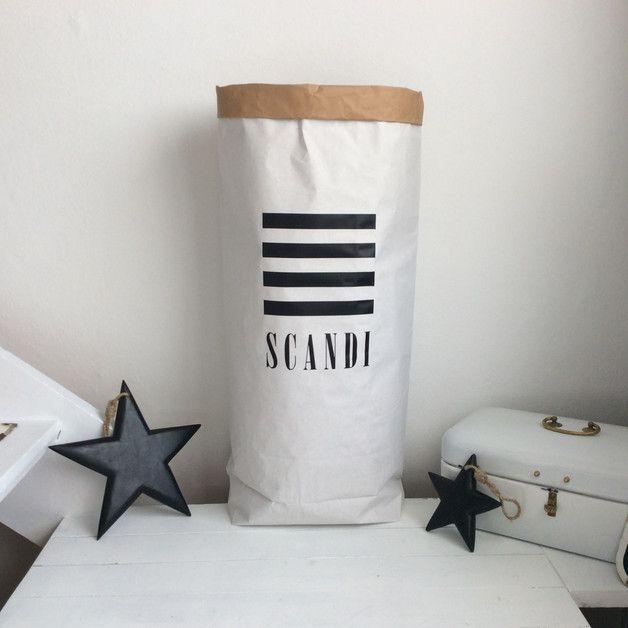 Papiertüten - Paperbag for LIVING - SCANDI - ein Designerstück von MAIN-HOME-STAGING-STUDIO bei DaWanda