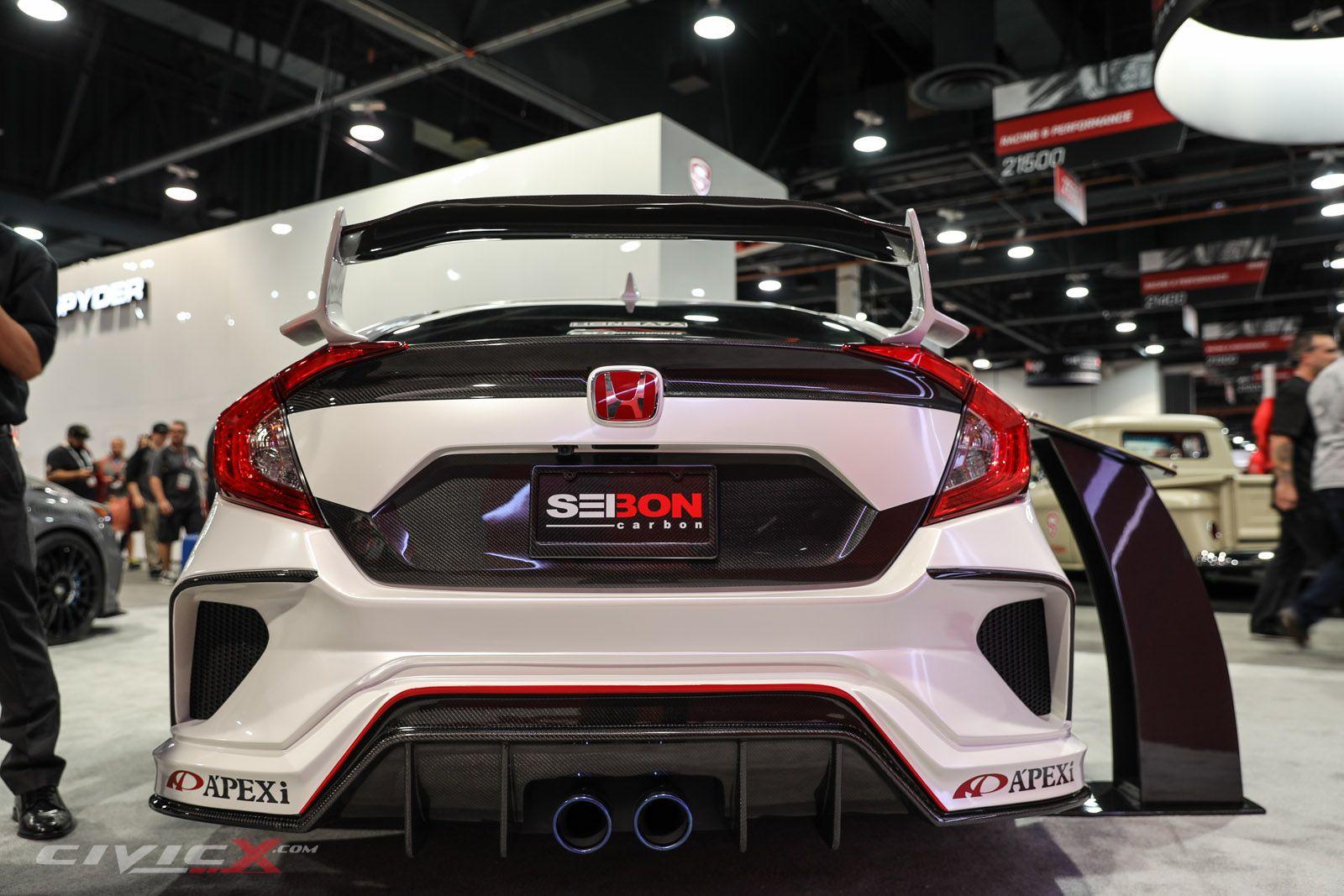 SEMA 2016 Honda Civics (Part 1 of 2) Seibon Carbon