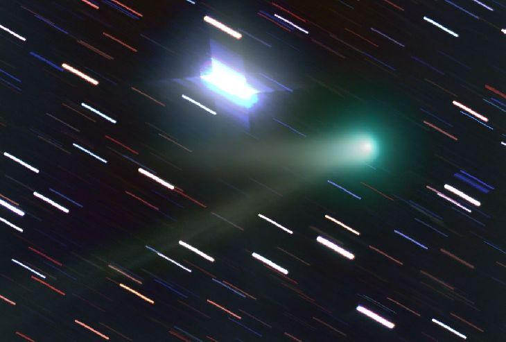 Comet Panstarrs K1  Taken by Chris Schur on May 29, 2014 @ Payson, Az