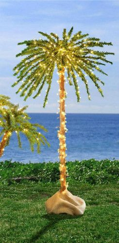 Unique lighted 6 foot 300 lights outdoor artificial palm tree new unique lighted 6 foot 300 lights outdoor artificial palm tree new trees ebay aloadofball Images
