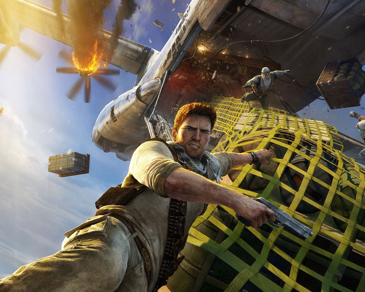 Uncharted 3 Drake S Deception Wallpaper In 1280x1024 Uncharted Uncharted Game Uncharted Series