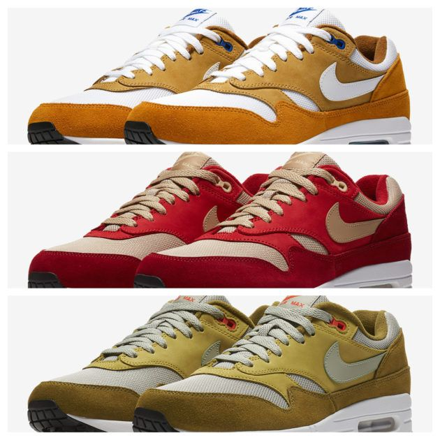 on sale 94b6a 75242 Release Reminder  Nike Air Max 1 Curry Pack Set to drop tomorrow, consider  this