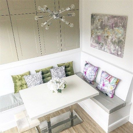 KITCHEN BANQUETTE – DIMENSIONS AND STORAGE IDEAS