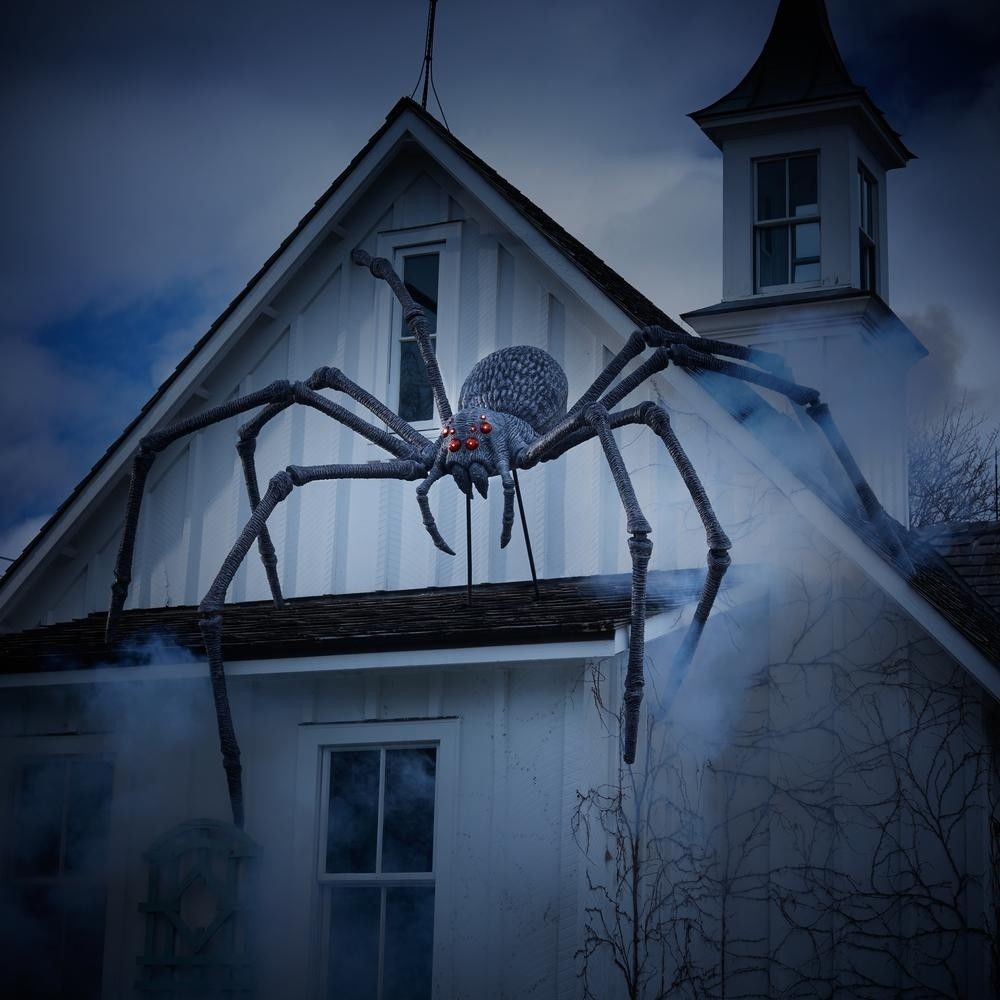 9 Gargantuan Giant Realistic Spider Poseable Leg With Sound Halloween Decor New Halloween Halloween Outdoor Decorations Outdoor Halloween Fun Halloween Decor