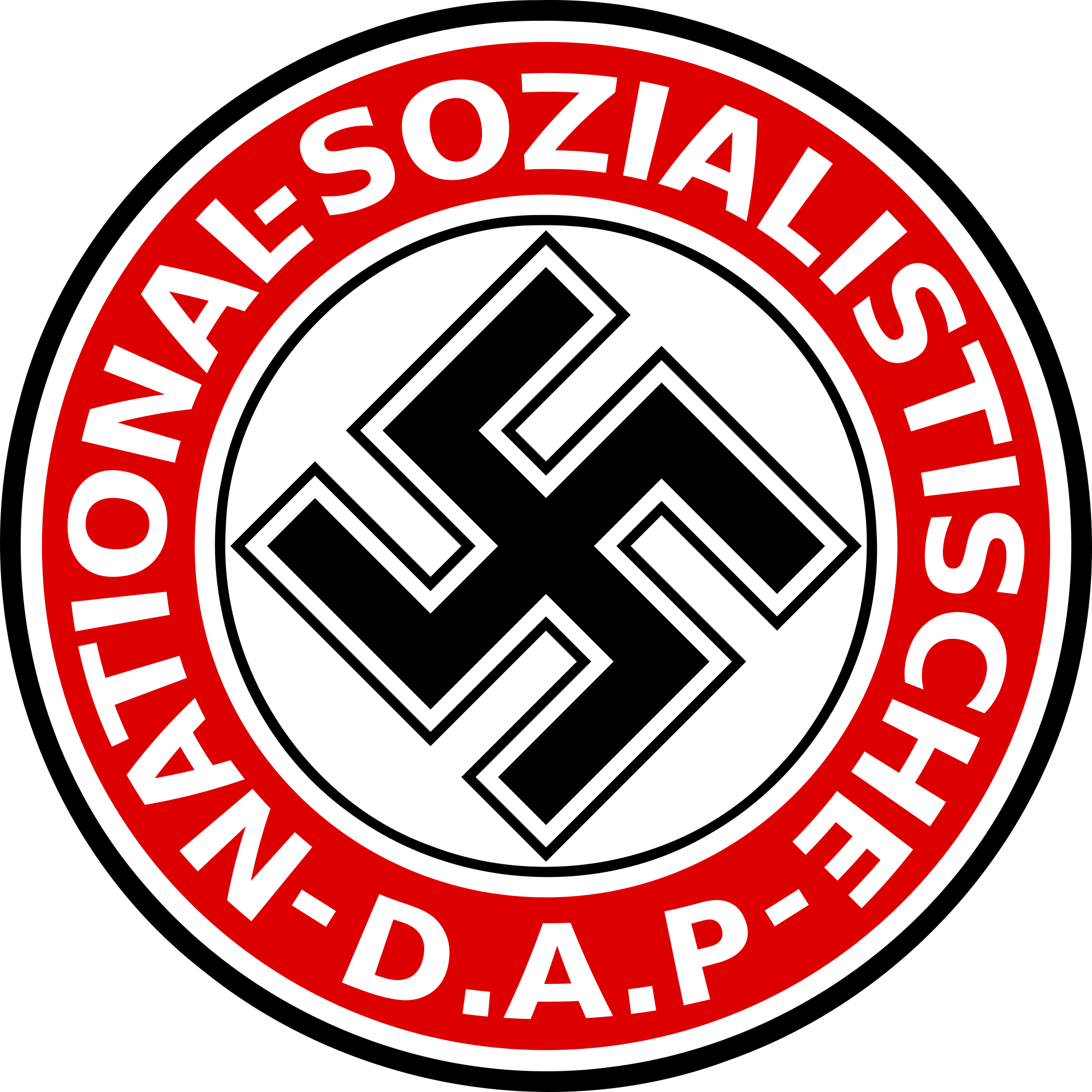 National socialist german workers party steme medalii embleme july 1921 adolf hitler becomes leader of the national socialist german workers party biocorpaavc Image collections