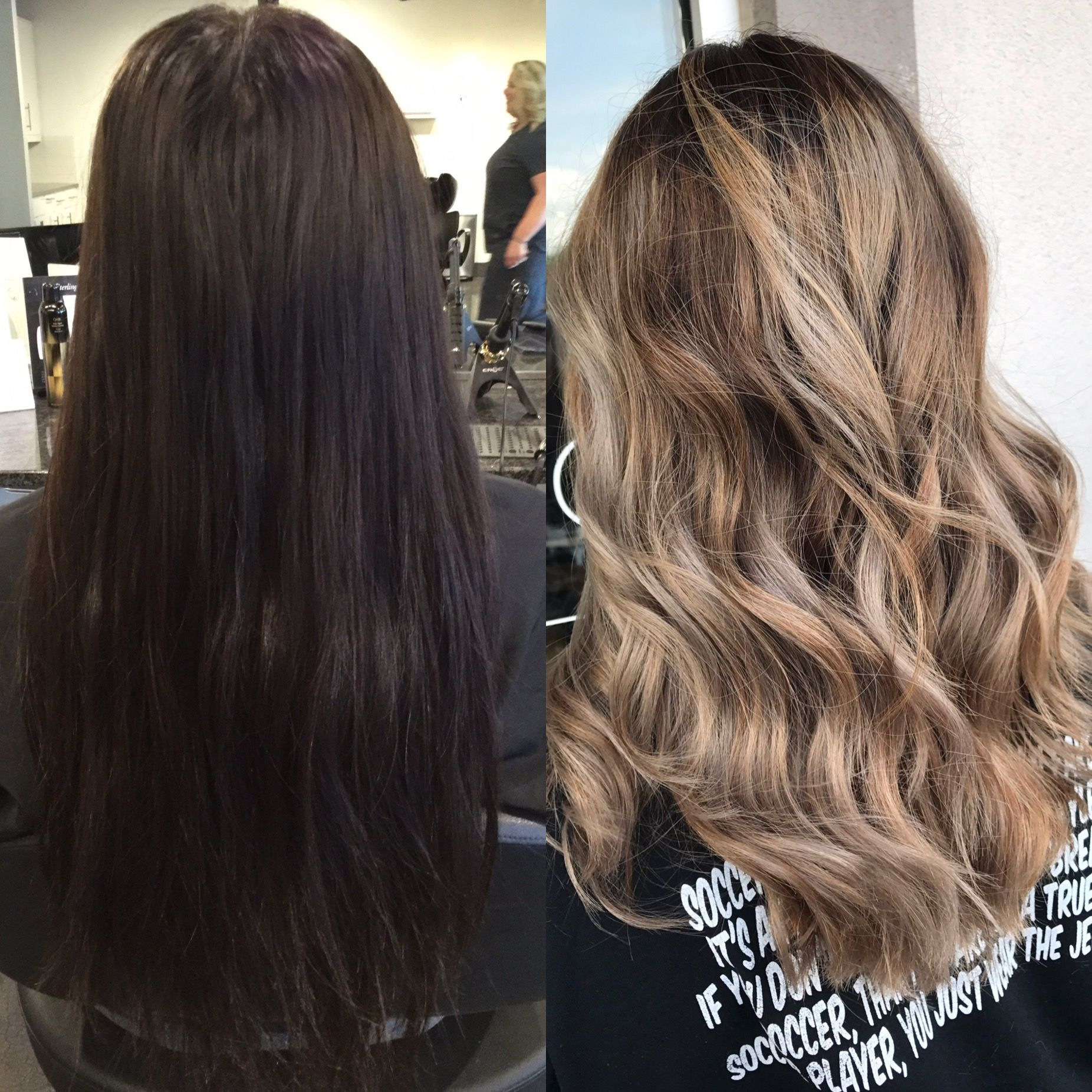 Hair Color Transformation Before And After Hair Color Black Box