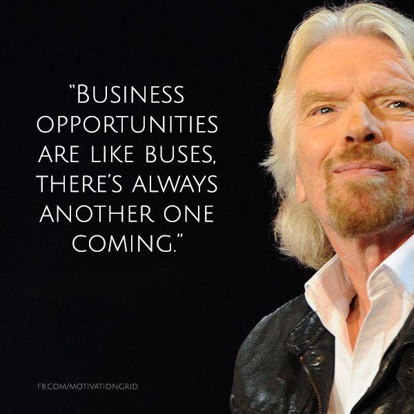Richard Branson 4 English Businessman Virgin Poster Motivation Life Quote Photo
