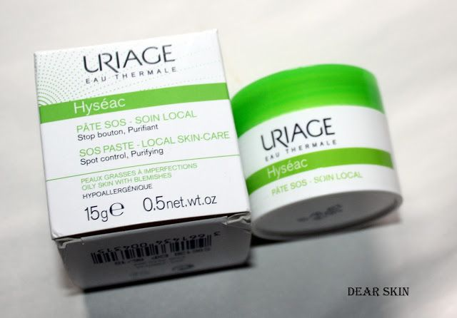 URIAGE HYSEAC SOS PASTA | Dear Skin | Things To Buy