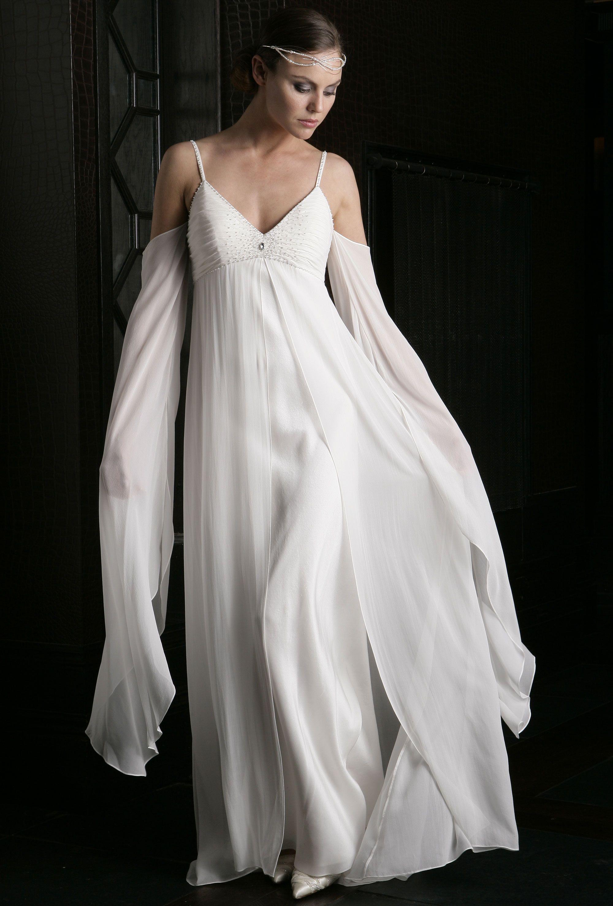 Gabriella wedding dress. Grecian or medieval maiden a very romantic ...