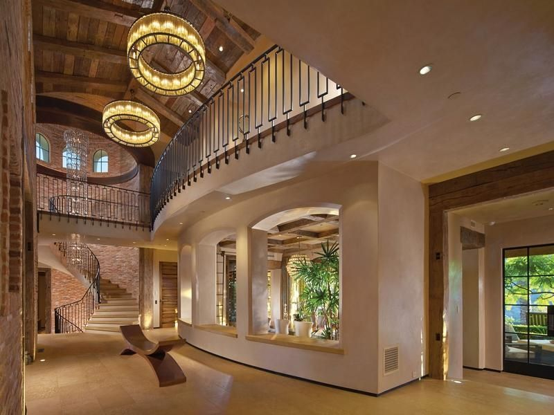 Mansion dream house irvine california is home to this wonderful cabin with a mix of styles - Dream homes interior ...