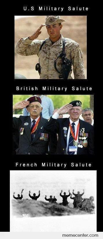 The French Always Surrender At All Costs Military Jokes Army Humor Military Humor