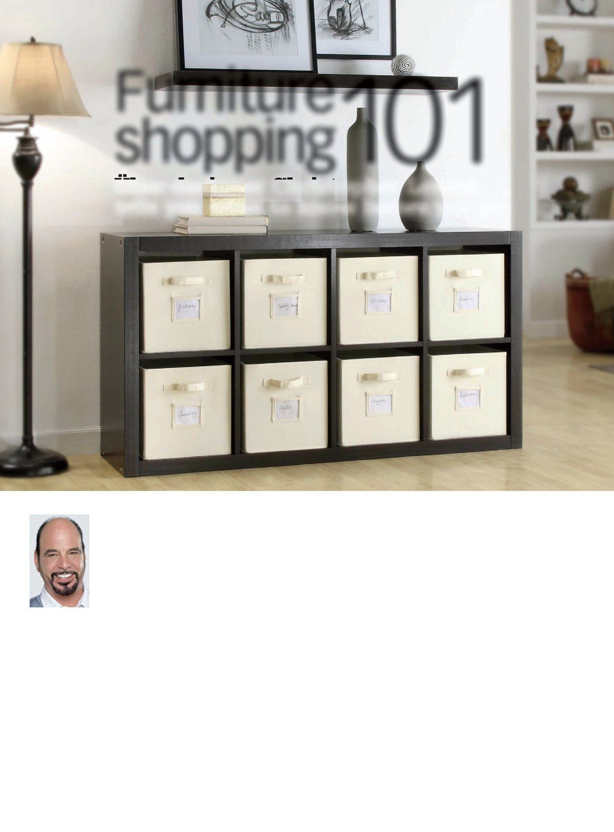 Onin Room Divider w storage bins 130 at Costco got these and