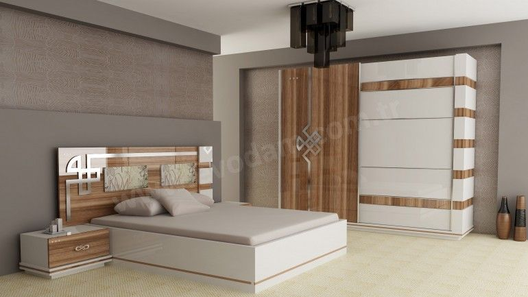 Carmen Yatak Odasi Takimi Bed Furniture Design Bedroom Bed Design Room Design Bedroom Bedroom set with wardrobe