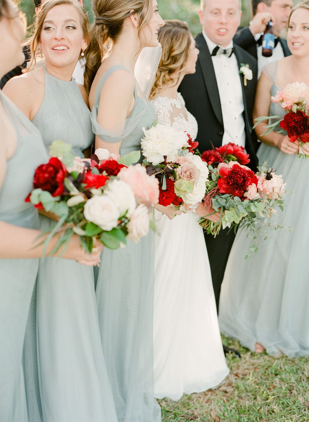 This is how to keep blush looking fresh in bridesmaid style