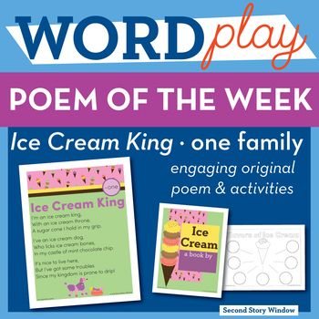 Ice Cream King  One Word Family Poem Of The Week  Family Poems