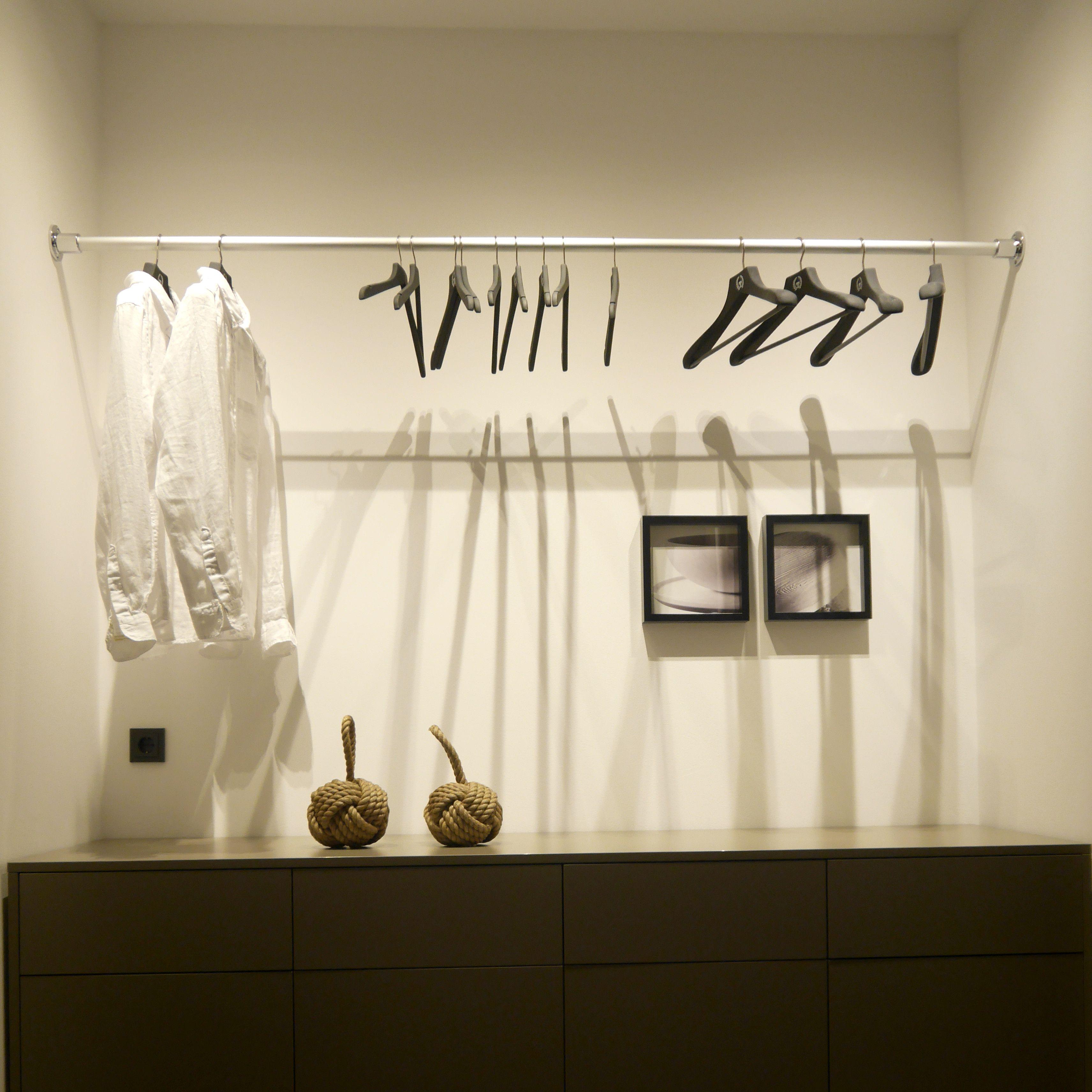 Hervorragend Kleiderstange zwischen zwei Wänden. Kleiderstange Wand UM62