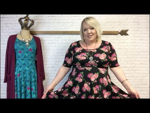 e64697ccdc11 LuLaRoe Nicole Sizing, Styling, and Fabric Comparisons - YouTube ...