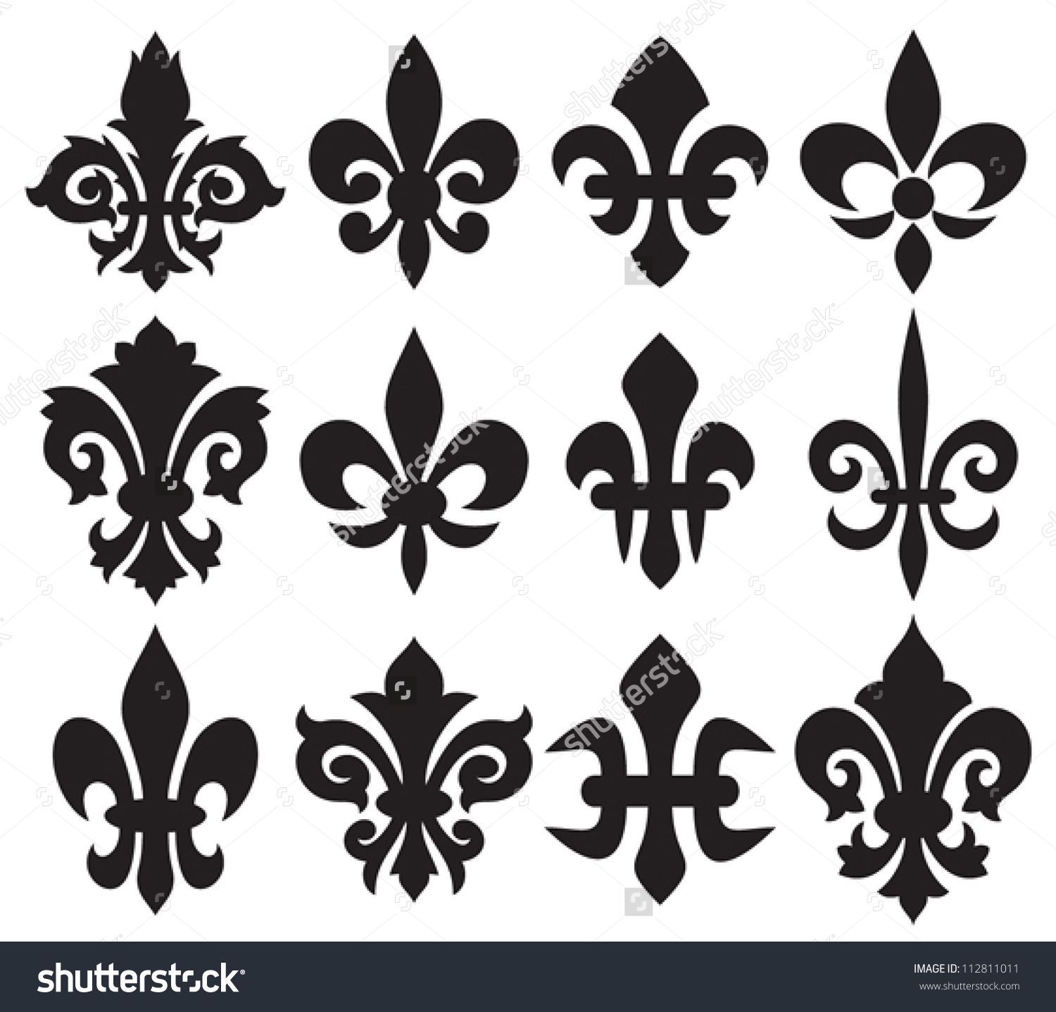 Flower meanings lily - Illustration Of Lily Flower Heraldic Symbol Fleur De Lis Royal French Lily Vector Art Clipart And Stock Vectors
