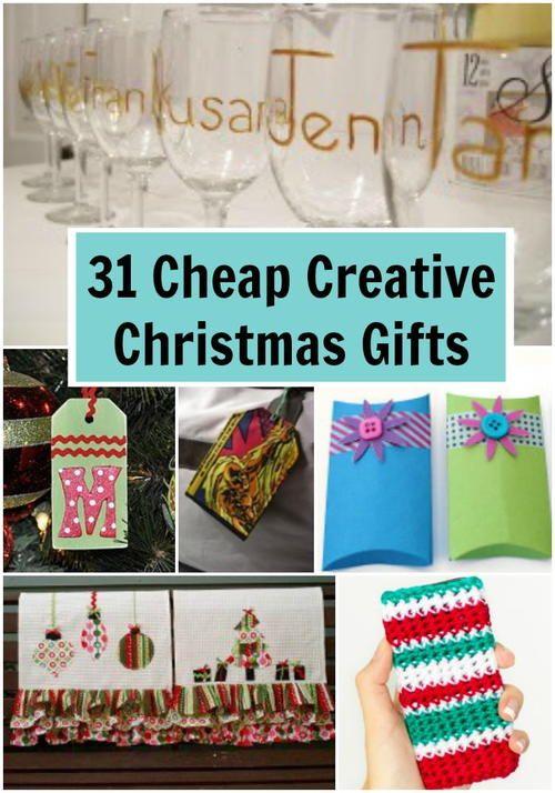 34 Cheap Creative Christmas Gifts Creative christmas gifts